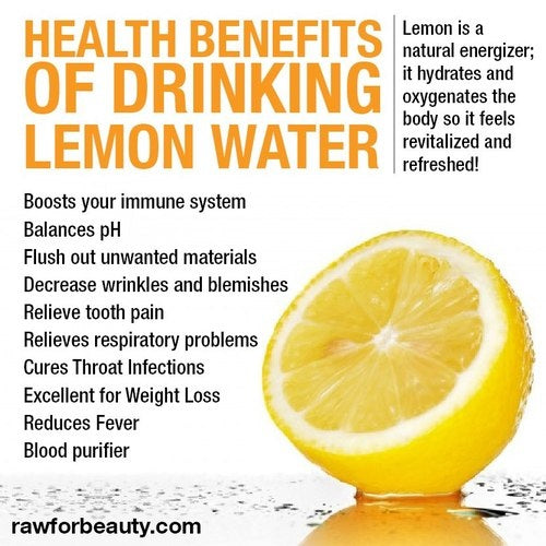 Lemon Water Anyone?