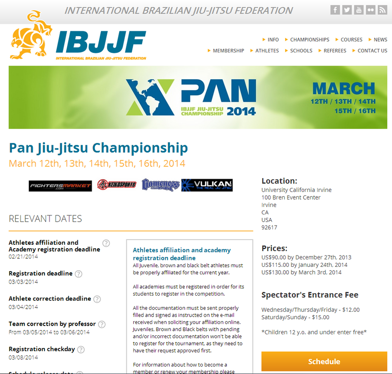 Congratulations Dinko Bektic on your Bronze Medal at the 2014 IBJJF Pan Jiu-Jitsu Championship!