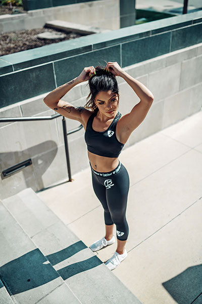 ClubBoost Signature Black Sports Bra