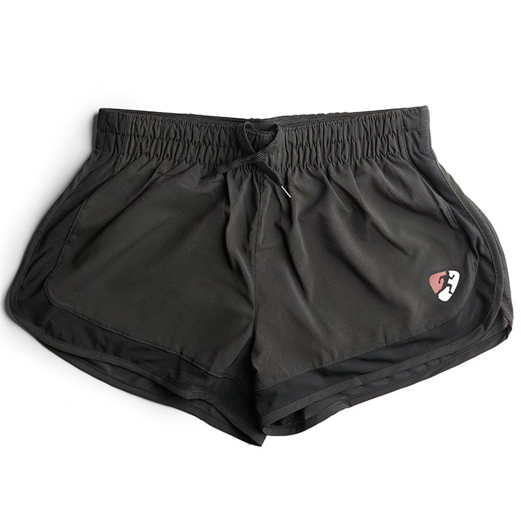 ClubBoost_Black_Lined_Mesh_Running_Shorts