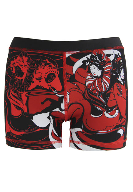 ClubBoost_Lady_Samurai_Shorts_Front