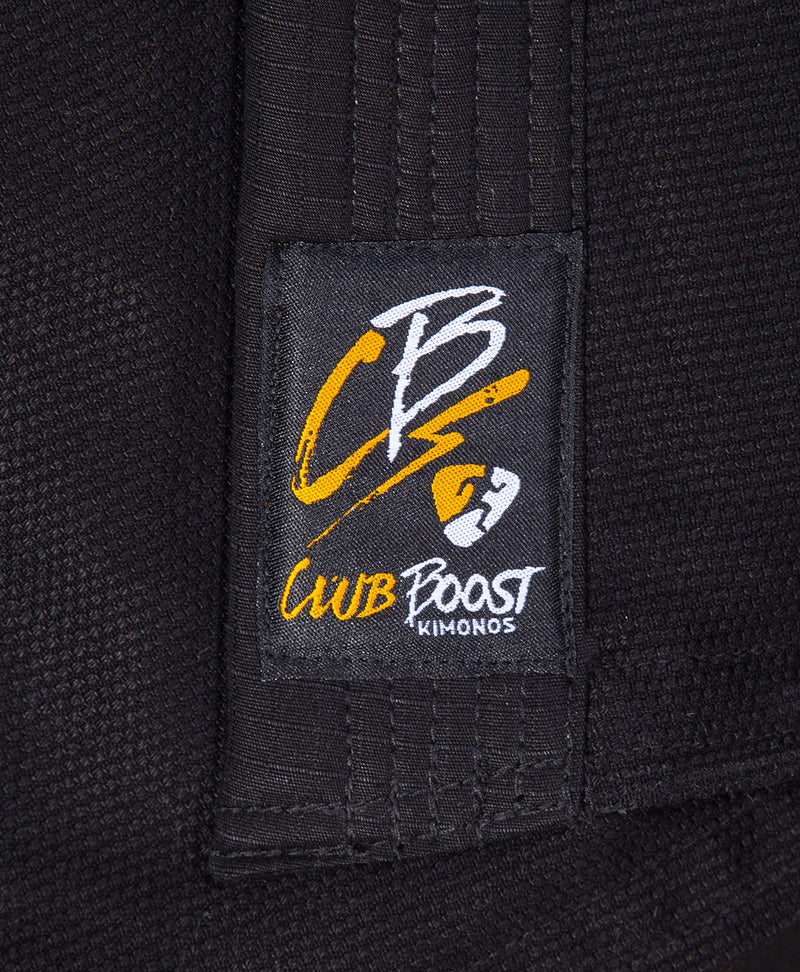 "ClubBoost KIDS ""CB"" Black and Gold Competition GI"
