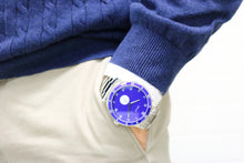 SAVOT Adventurer Blue men's steel watch