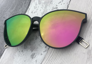Full Mirrored Lens Sunglasses