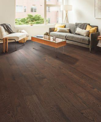 Mohawk Engineered Hardwood - Alpine Ridge Worn Leather Oak