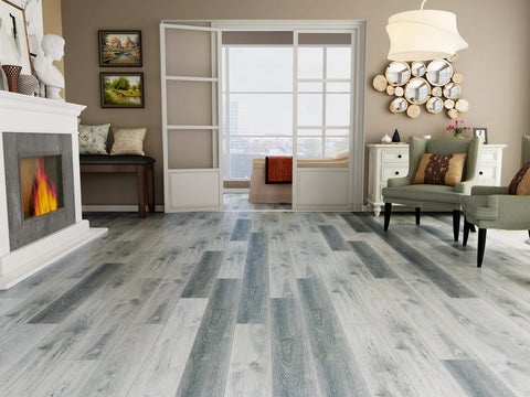 Vinyl Plank Flooring - Cool Waters