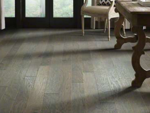 Shaw Epic Plus Fremont Hickory Engineered Hardwood - Slate