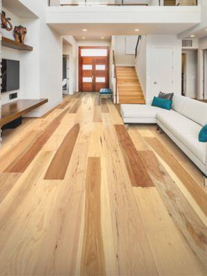 Mohawk Engineered Hardwood - Homestead Retreat Hickory Country Natural Hickory