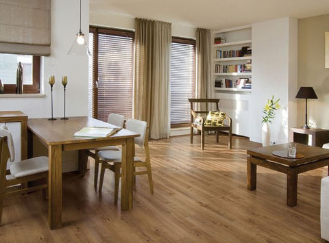COREtec Plus Enhanced Vinyl Plank Flooring - Manilla Oak