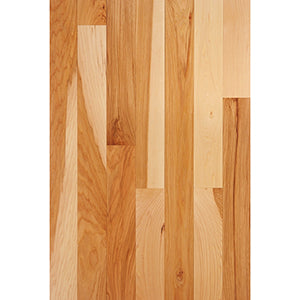 "FSD Solid Hardwood Flooring - Prefinished 3/4 x 3""  Select Grade Hickory"