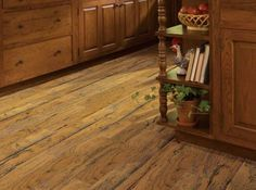 Shaw Epic Plus Rosedown Hickory Engineered Hardwood - Old Gold