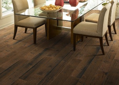 Shaw Epic Plus Rosedown Hickory Engineered Hardwood - Smokehouse Spice