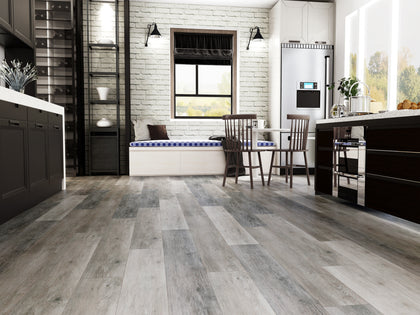 Vinyl Plank Flooring - Coastal Grays