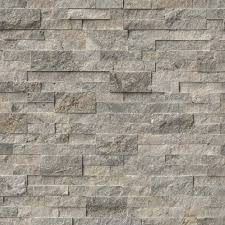 Silver Travertine - Rockmount Stacked Stone - MSI