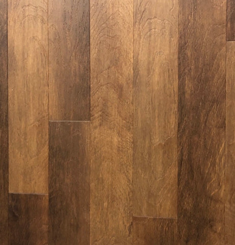 Southwind Narrow Vinyl Plank Flooring - Colonial Maple