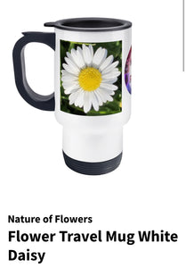 Flower Travel Mugs