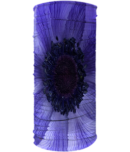 Blue Flower Neck Gaiter (Double Sided) - Nature of Flowers