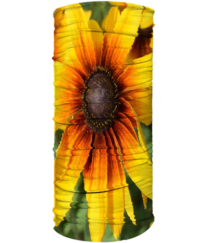 Yellow Flower Neck Gaiter (Double Sided) - Nature of Flowers