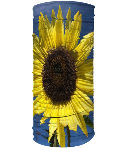 Sun Flower Neck Gaiter (Double Sided) - Nature of Flowers