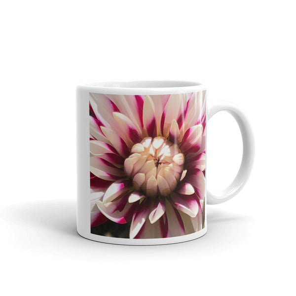 """Marco Marvel"" Flower Glossy Mug - Nature of Flowers"