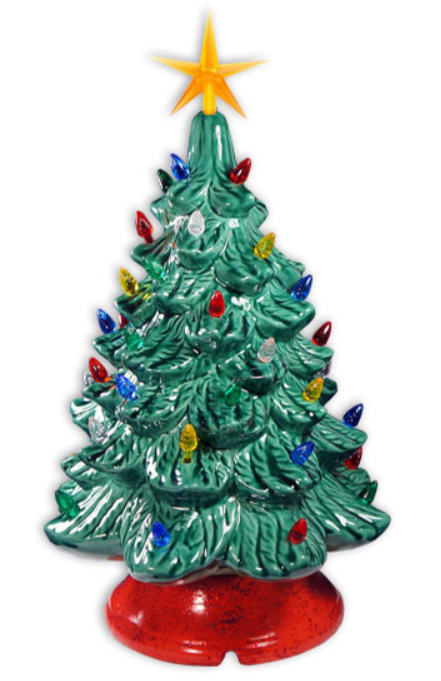 CERAMIC CHRISTMAS TREE WORKSHOP | November 21st | 6:30 PM - 8:30 PM