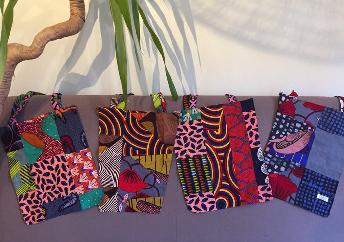 Patchwork Tote Bags