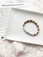 Load image into Gallery viewer, DIY Word Bracelet Kits