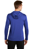 ShredFin Blue Hooded DriFit Shirt