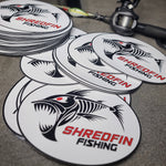 ShredFin Oval Decal