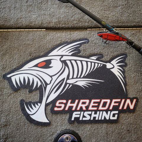 ShredFin Boat Carpet Decal