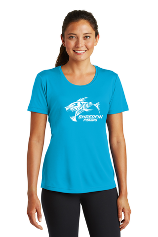 ShredFin Ladies Short Sleeve DriFit