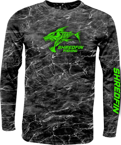 ShredFin Mossy Oak Elements Blacktip DriFit Shirt