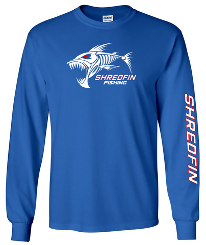 Kids ShredFin Long Sleeve T-Shirt (THIS IS A YOUTH SHIRT)
