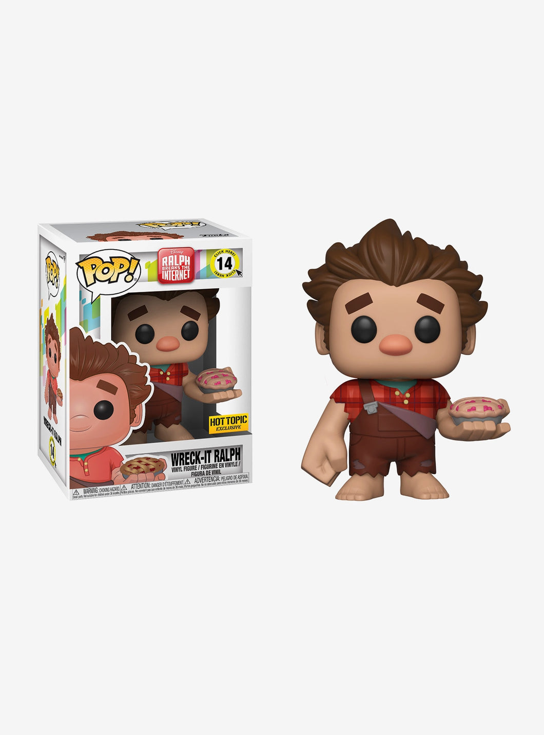 Ralph Breaks the Internet: Wreck-IT Ralph - Hot Topic Exclusive