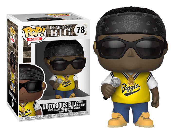 The Notorious B.I.G with Jersey Pop