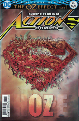 Action Comics #987 Lenticular Cover