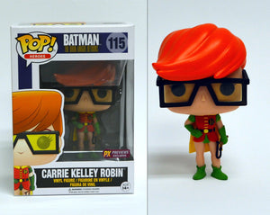 POP DC HEROES DKR CARRIE KELLY ROBIN PX VINYL FIG