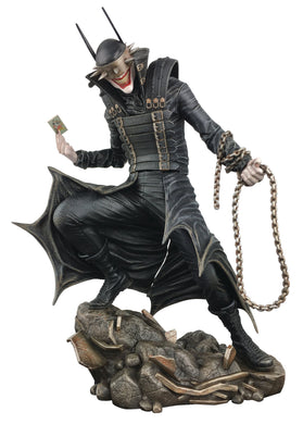 DC GALLERY BATMAN  WHO LAUGHS PVC STATUE