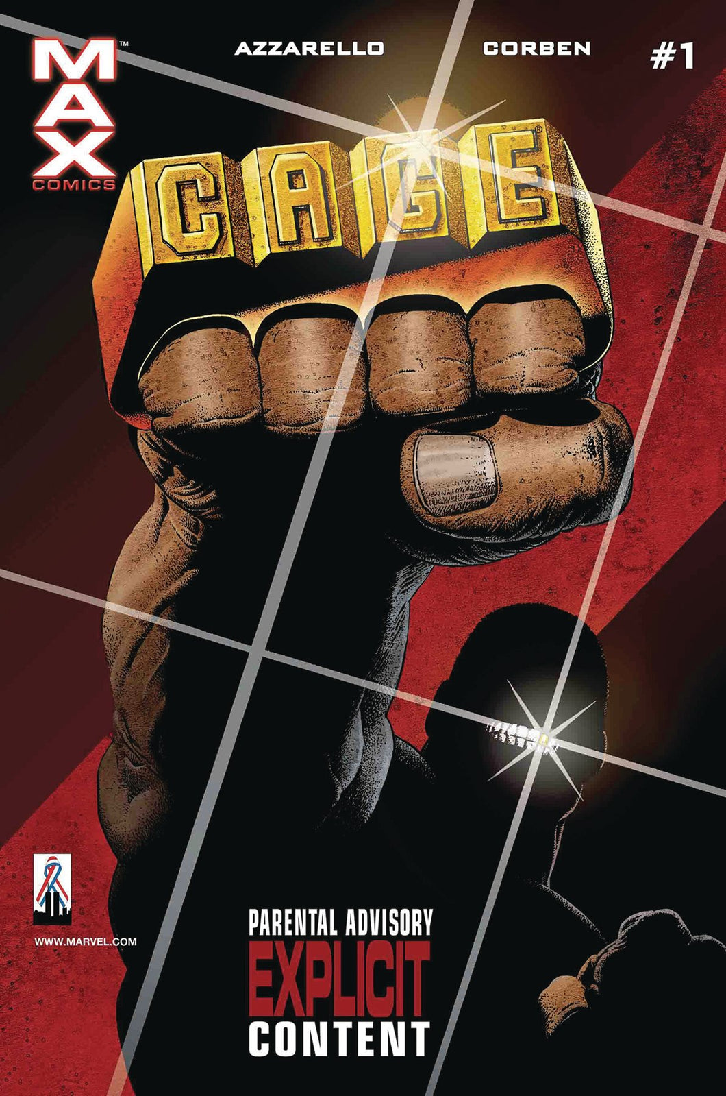 TRUE BELIEVERS CAGE BY AZZARELLO & CORBEN #1