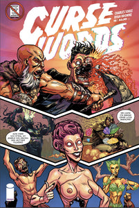 CURSE WORDS #16 CVR E CBLDF CHARITY VAR UNCENSORED (MR)