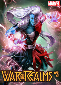 WAR OF REALMS #3 (OF 6) HEEJIN JEON MARVEL BATTLE LINES VAR