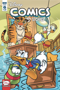 DISNEY COMICS AND STORIES #6 CVR A MAZZARELLO (C: 0-1-2)