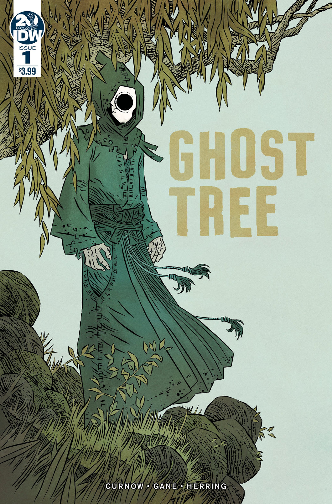 GHOST TREE #1 2ND PTG