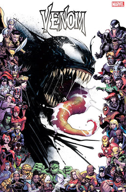 VENOM #17 GARBETT MARVEL 80TH FRAME VAR AC