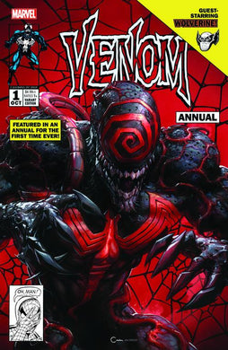 VENOM ANNUAL #1 CLAYTON CRAIN EXCLUSIVE