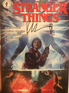STRANGER THINGS #1 CVR A - Signed Keith Champagne