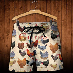 Full Printed Chickens Clothes