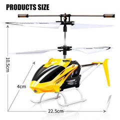 Electric Remote Control Helicopter Shatterproof Toys