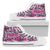 Women's High Top Shoes - Breast Cancer Awareness