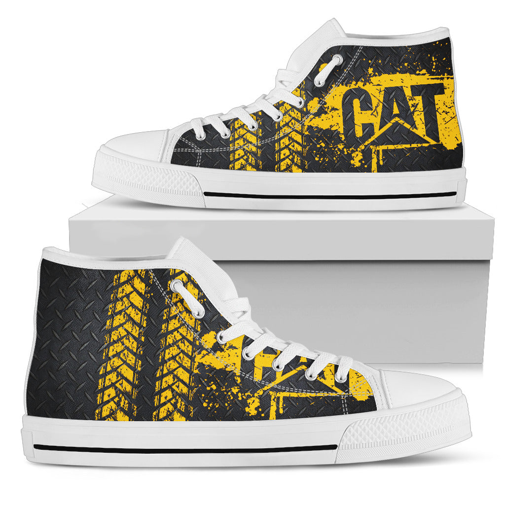 Women's High Top Shoes - Cat